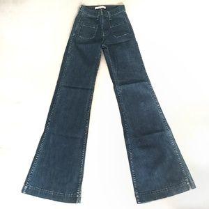 "J Brand ""Mystery"" High-Rise Wide Leg, size 23"